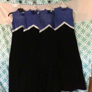Blue Black Band,color guard,Halloween outfit